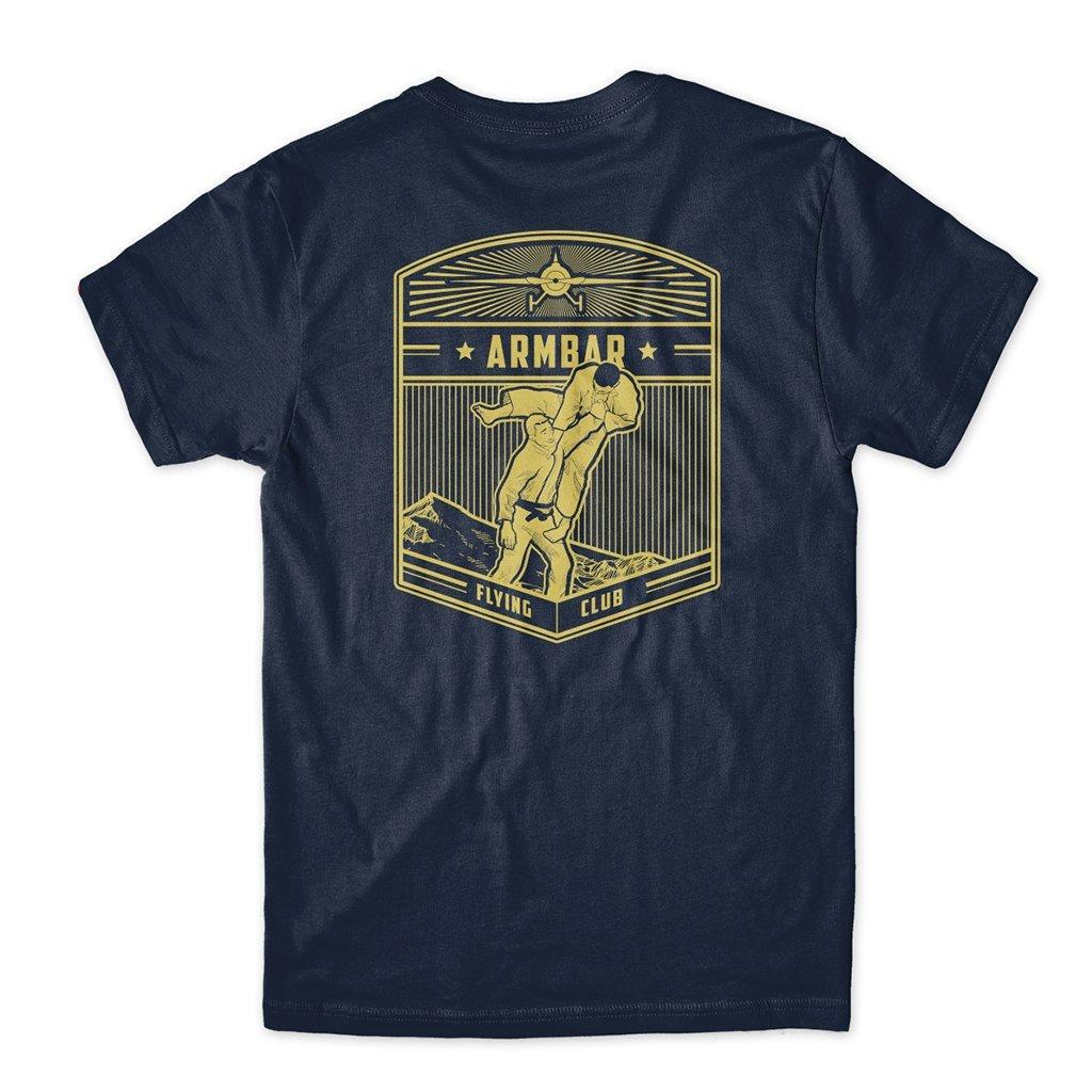Choke Republic Armbar Flying Club Tee