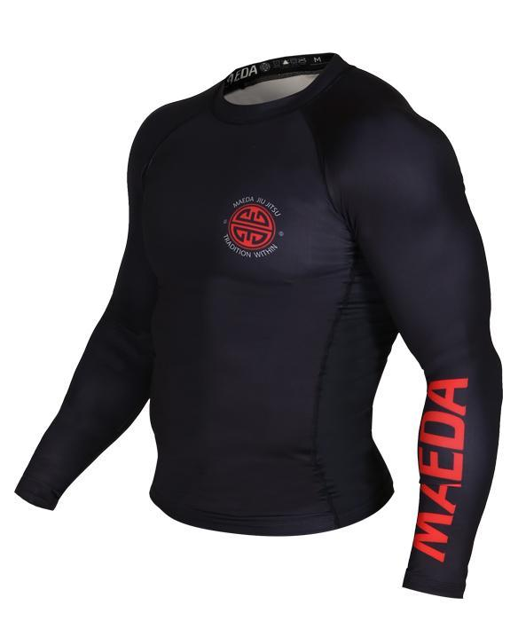 MAEDA RED LABEL RASH GUARD