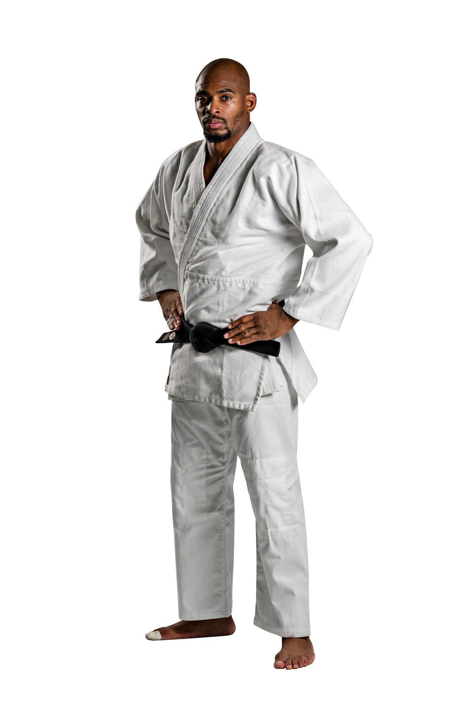 Ronin Brand Single Weave Bleach White Judo gi