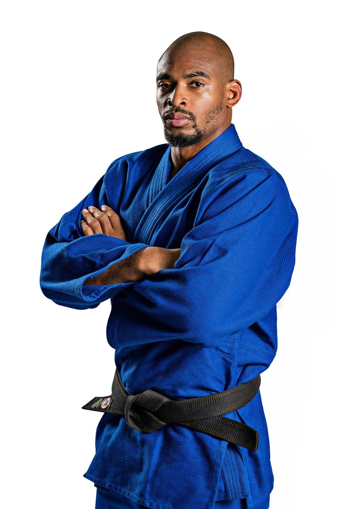 Ronin Brand Single Weave Blue Judo gi