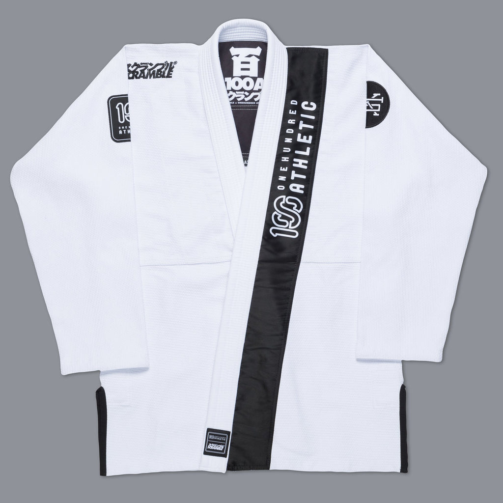 Scramble x 100Athletic Jiu Jitsu Gi