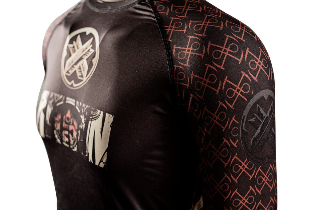 Legends of Kurosawa Samurai Rash Guard