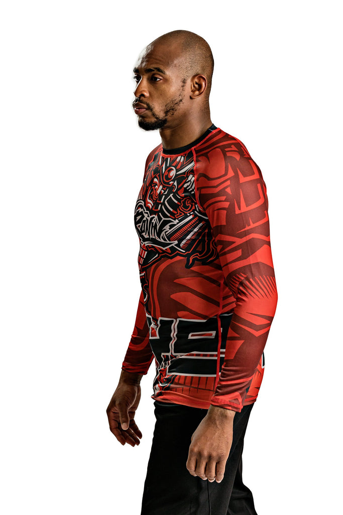 Samurai Yoroi Long Sleeve Rash Guard