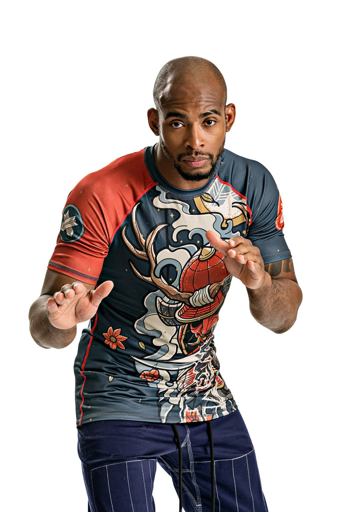 Oni Bushi Short Sleeve Rash Guard