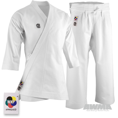 ProForce 14oz WKF Diamond Kata Gi Pant Uniform Traditional Drawstring