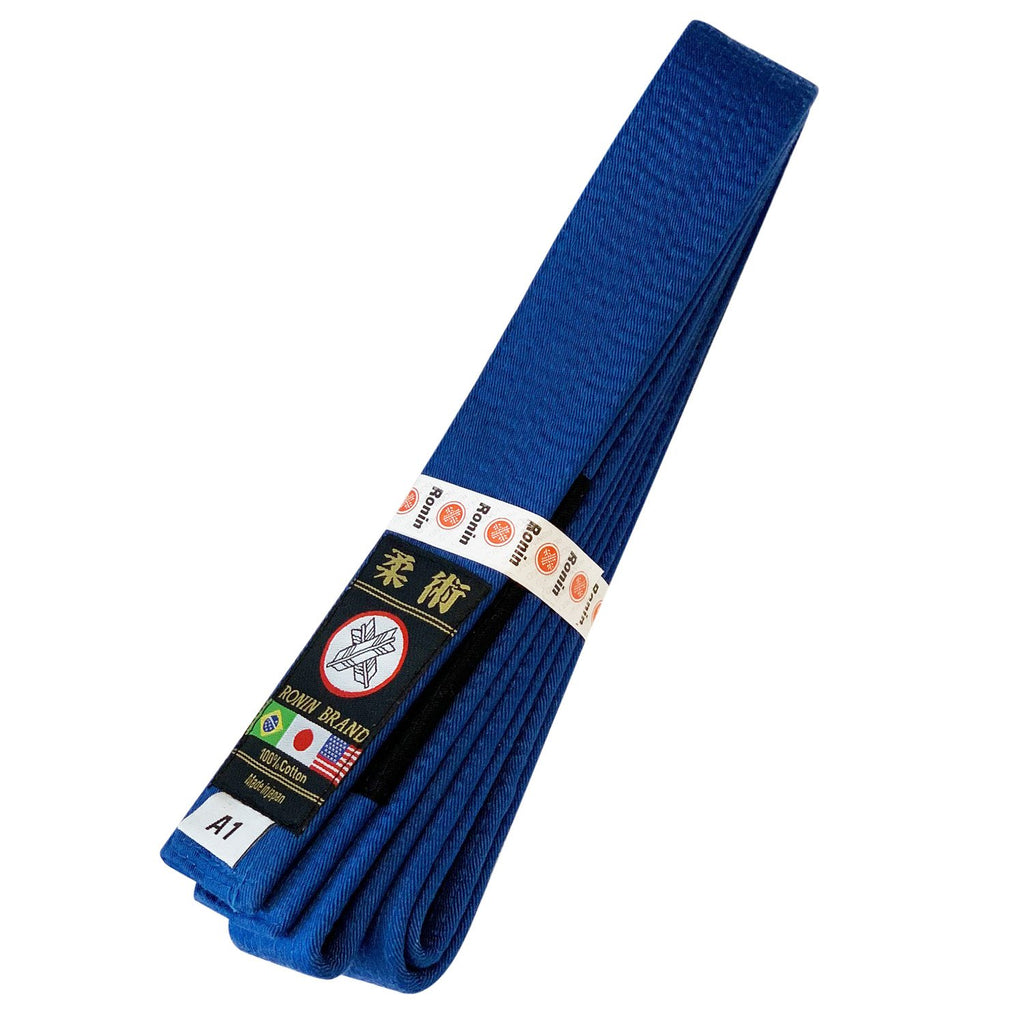 Japanese made Ronin Deluxe Super high quality Brazilian Jiu-jitsu Belt