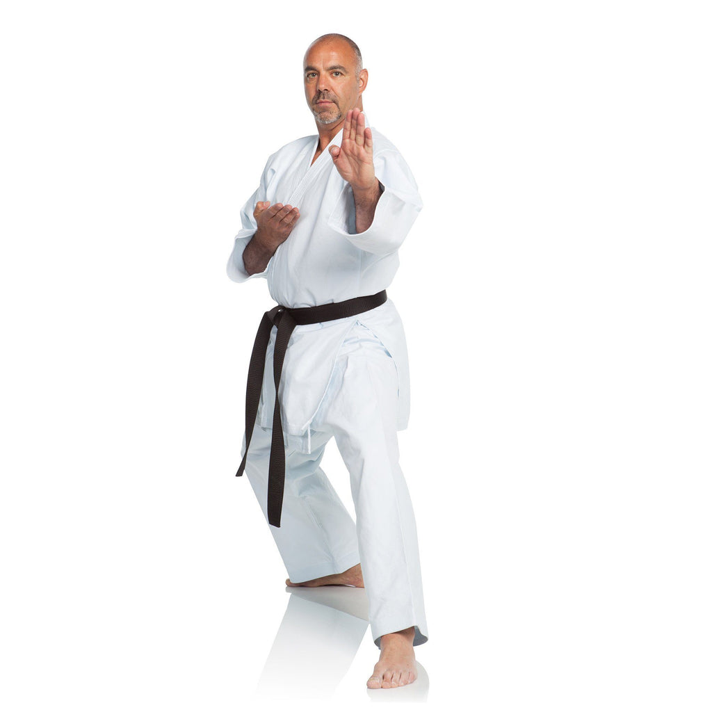 Ronin Brand Shiai Deluxe Japan Cloth (Blk/gold Label) Karate Gi - 14oz.