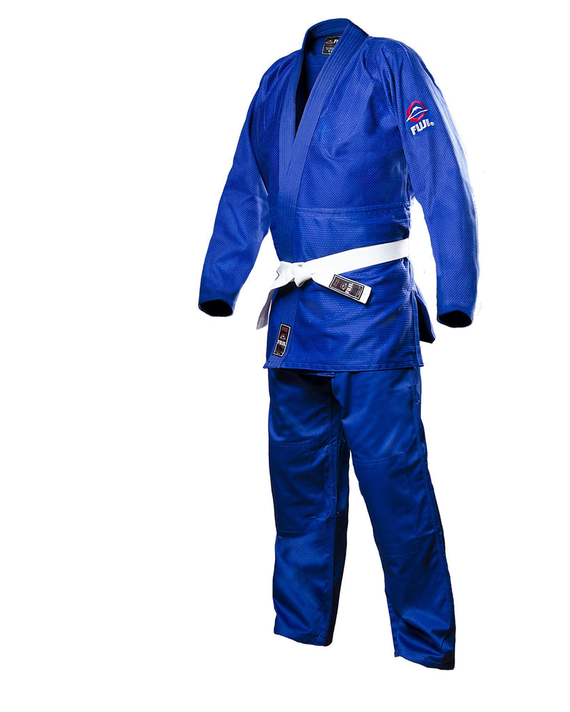 BRAND NEW DOUBLE WEAVE COMPETITION HEAVY BLUE JUDO GI UNIFORM SIZE 4