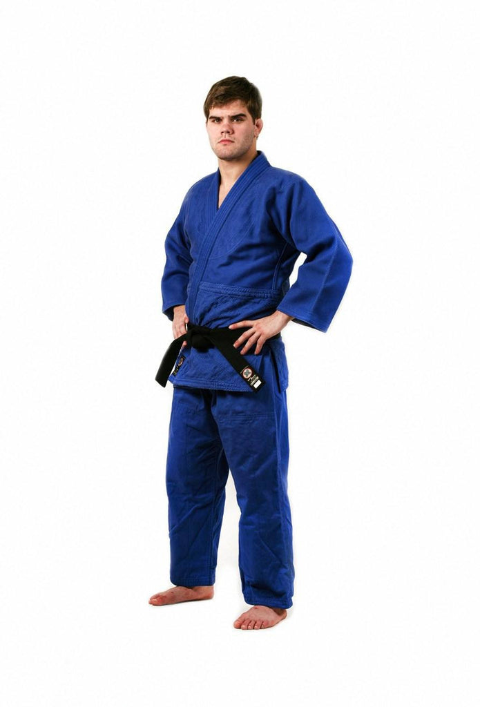 Ronin Brand Deluxe Double Weave Blue Judo uniform