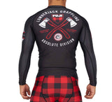 Fuji Lumberjack Match Rash guard