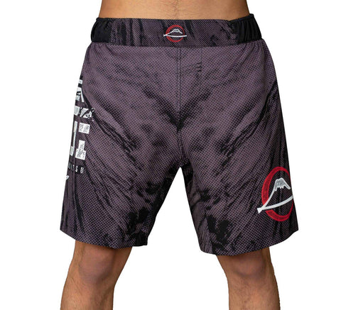 FUJI Inverted Board Shorts - Black