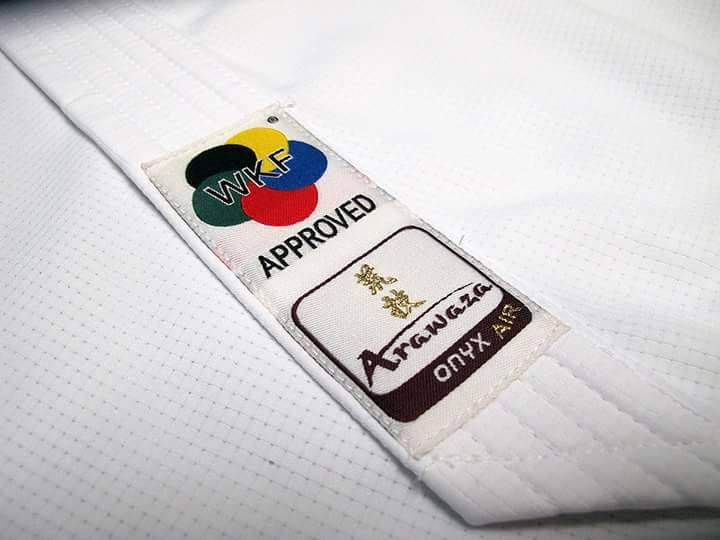 Arawaza Onyx Air Kumite Karate Gi -  WKF Approved
