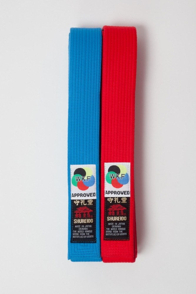 Shureido WKF Approved Competition Belts (Kata)