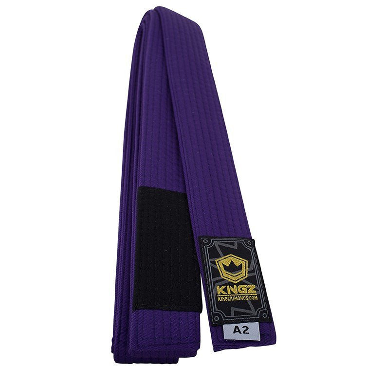 KINGZ GOLD LABEL BJJ BELTS