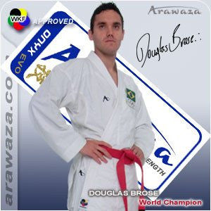 Arawaza Onyx Evolution Kumite Karate Uniform - WKF Approved