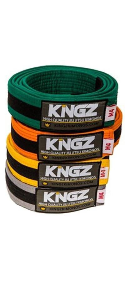 KINGZ KIDS BELTS W/ BLACK STRIPE