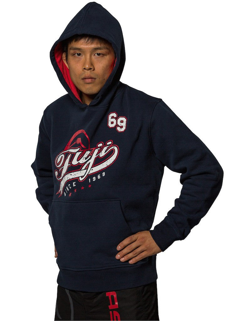 FUJI Collegiate Hoodie - Grey or Navy