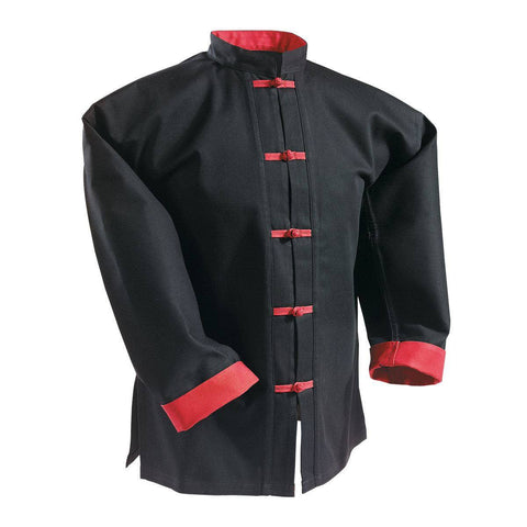 Kung Fu White Frog Button Uniform