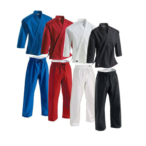 Century Middleweight 8oz. Uniform with Traditional Pant - White or Black
