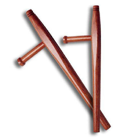 Burned Rattan Bo Staff