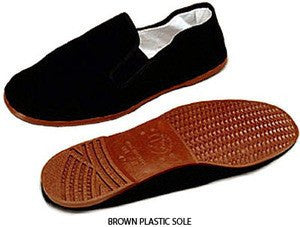Kung Fu Shoes - Brown Soles
