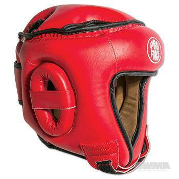 Proforce Open Face Headgear - Red