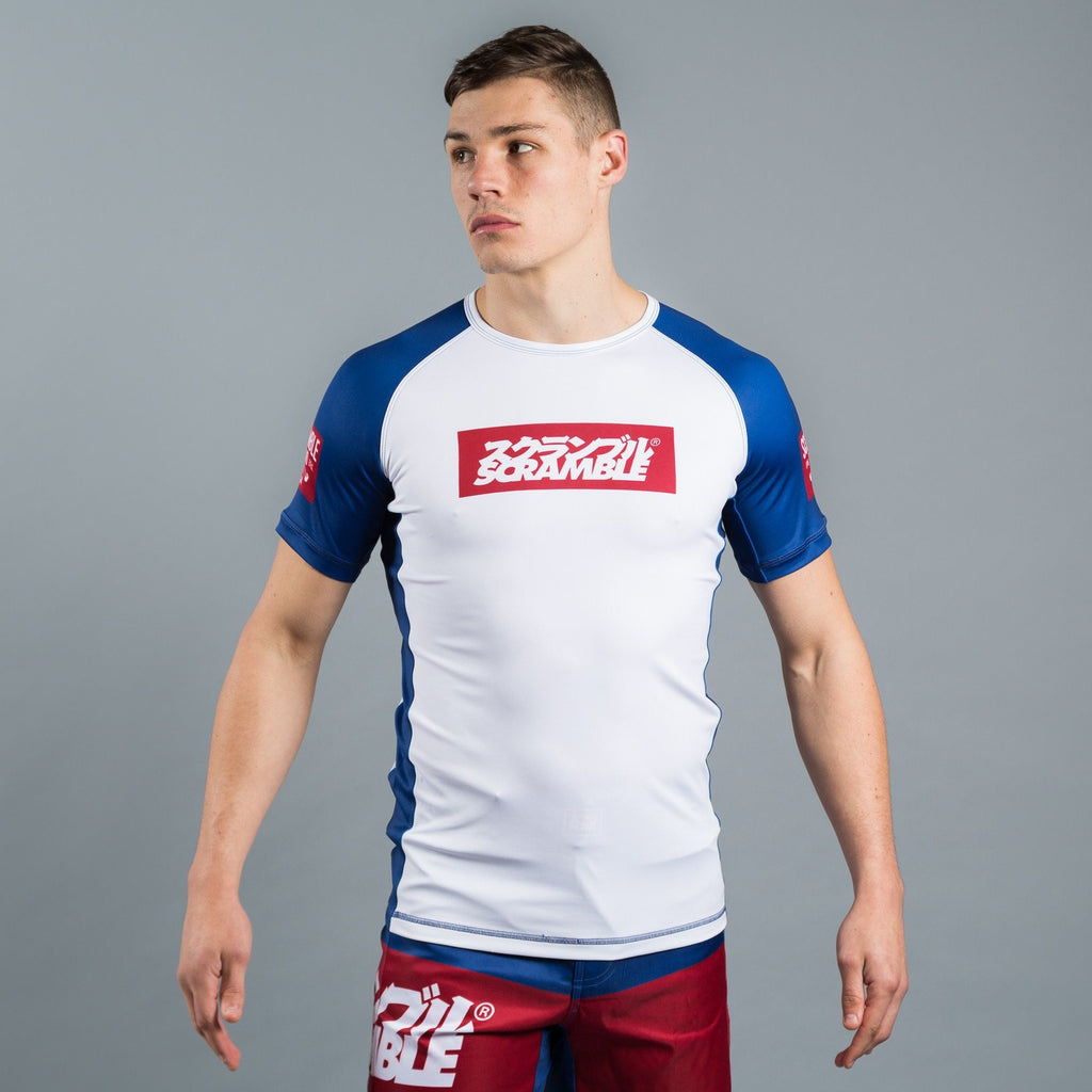 SCRAMBLE RWB RASH GUARD
