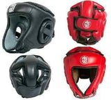 Proforce Open Face Headgear - Red or Black