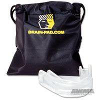 Wipss 'Brain Pad' Jaw-Joint Protector - Clear & Clear