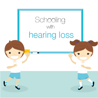 Schooling with hearing loss