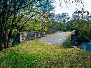 Paper Print Bridge to Nowhere JaiGieEse PhotoArt