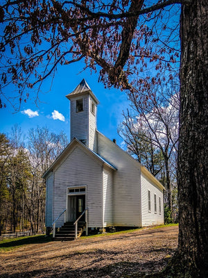 Digital Download Cades Cove Primitive Baptist Church1 LIC JaiGieEse PhotoArt