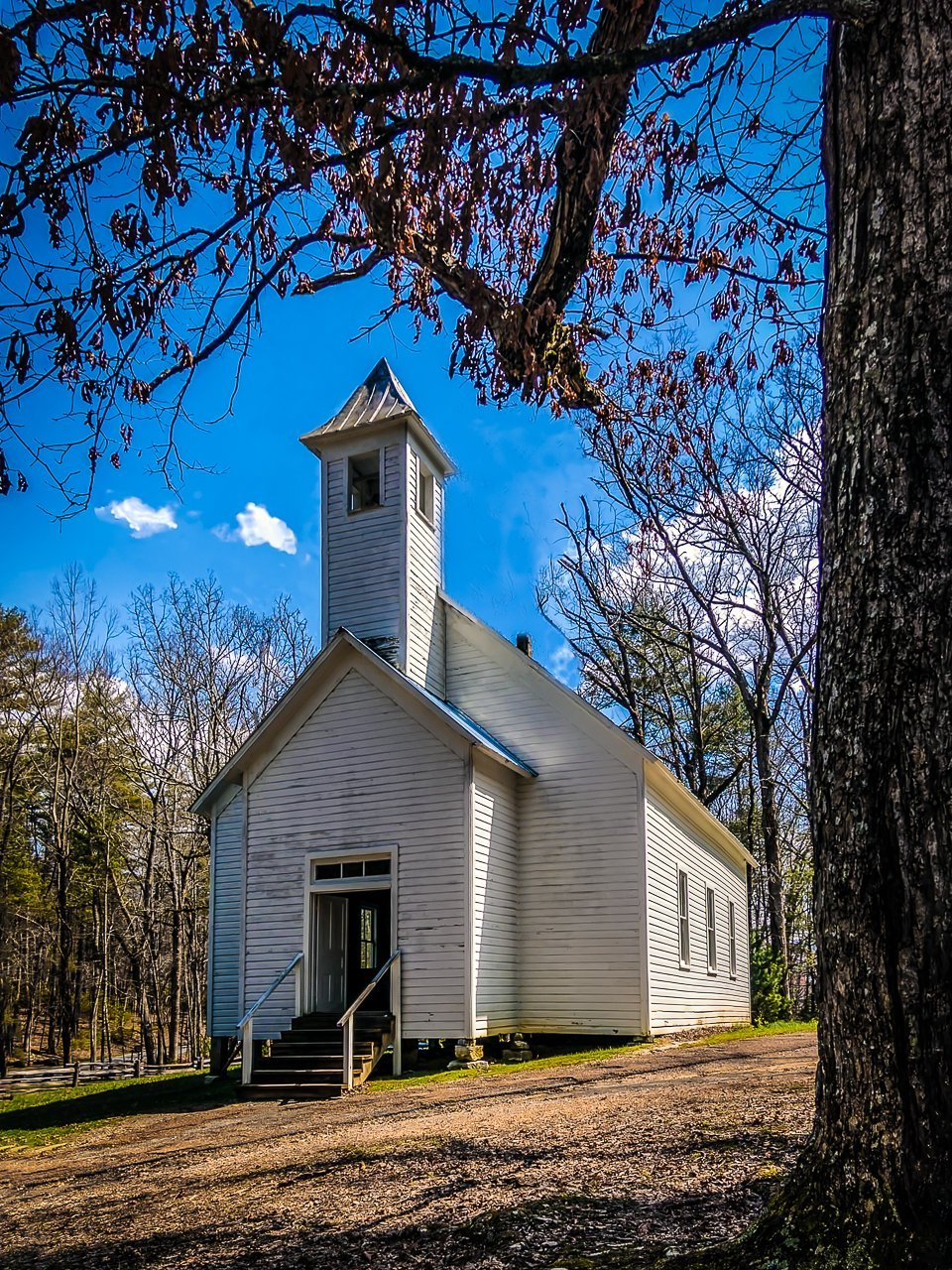 Paper Print Cades Cove Primitive Baptist Church1 JaiGieEse PhotoArt