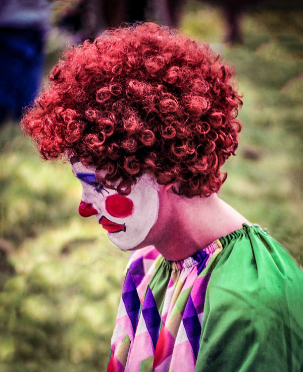 Paper Print Clown at Smith Park JaiGieEse PhotoArt