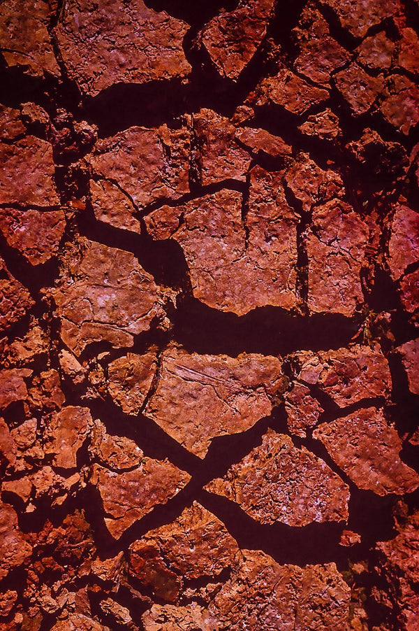 Paper Print Cracked Earth JaiGieEse PhotoArt