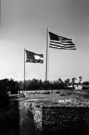 Paper Print Flags Over Gaines JaiGieEse PhotoArt