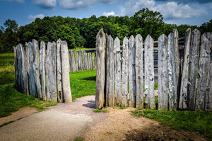 Paper Print Fort Necessity Entrance JaiGieEse PhotoArt