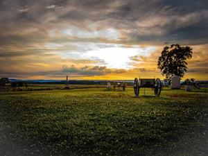 Digital Download Gettysburg Sunset LIC