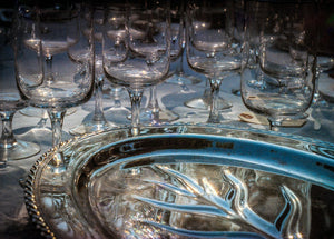 Paper Print Glasses and Tray JaiGieEse PhotoArt