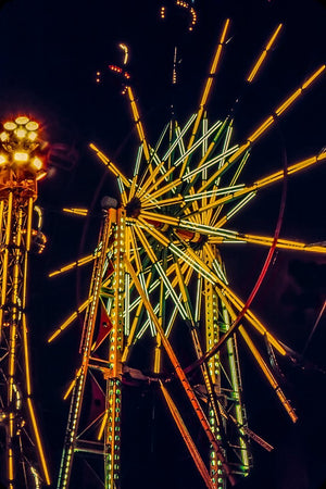 Digital Download Night Ferris LIC JaiGieEse PhotoArt