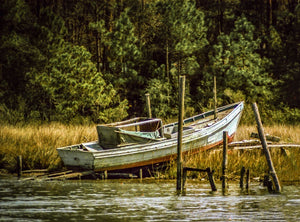 Digital Download Old Beached Boat LIC JaiGieEse PhotoArt