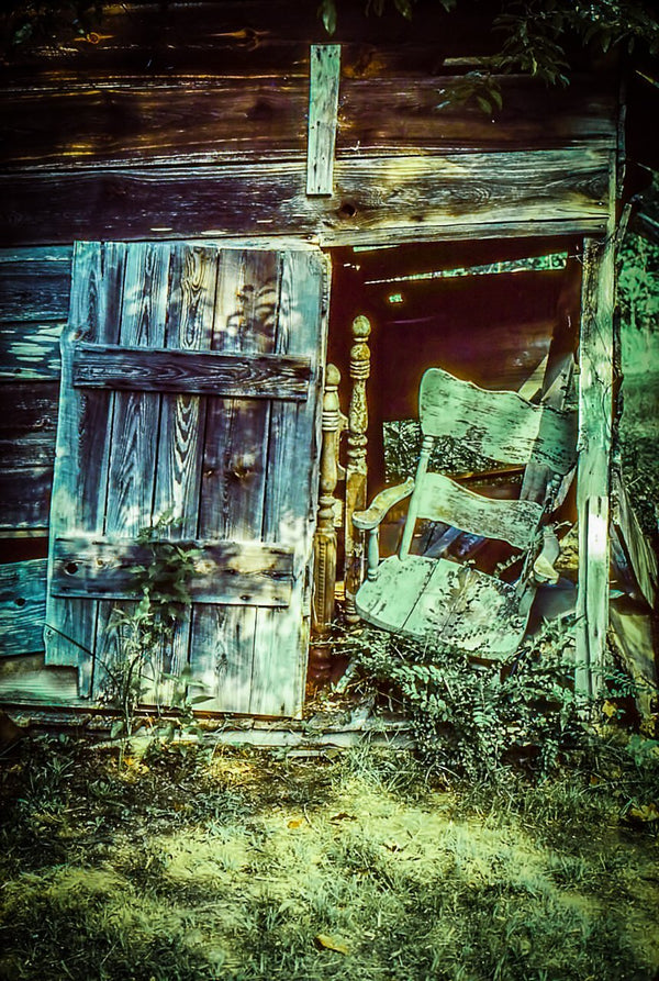 Paper Print Old Smokehouse JaiGieEse PhotoArt