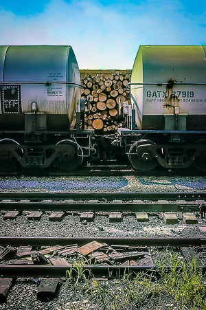 Digital Download Train Cars LIC JaiGieEse PhotoArt
