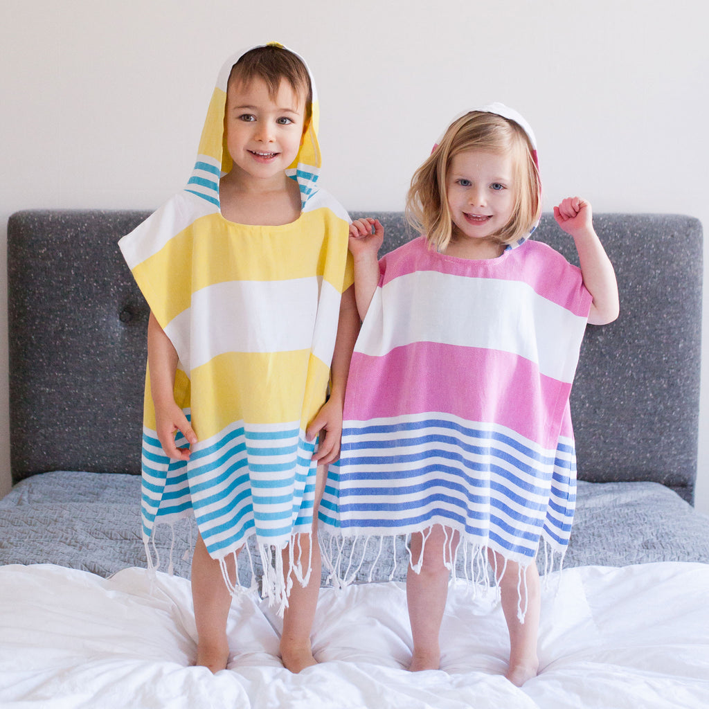 Children's Poncho and Parker Kahuna Skinny Model