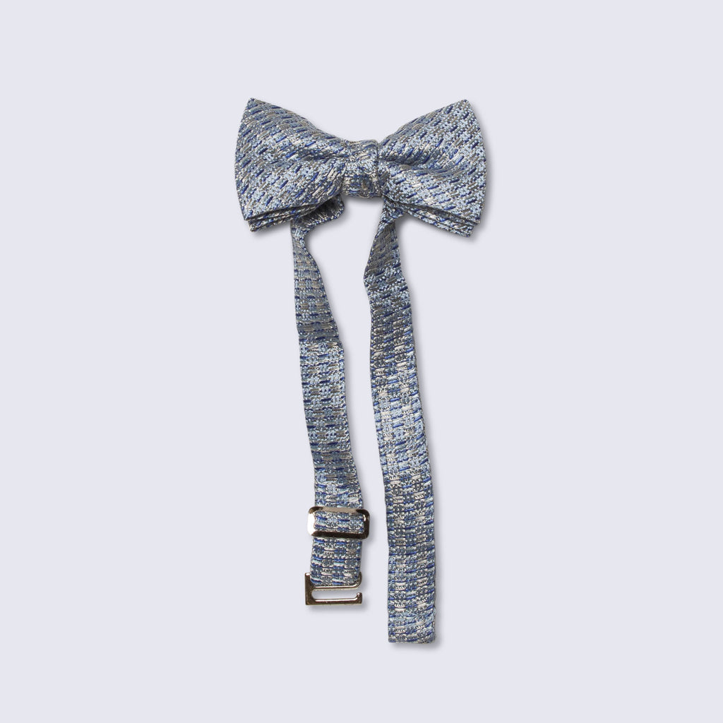 Little butterfly bow tie tweed texture ocean