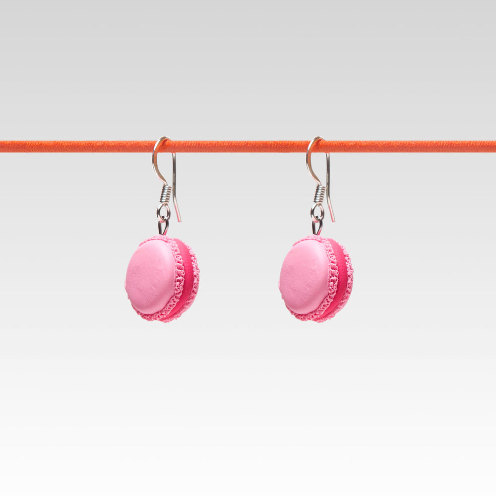 Yomi Yomis Dangle Earrings Pink Macaron