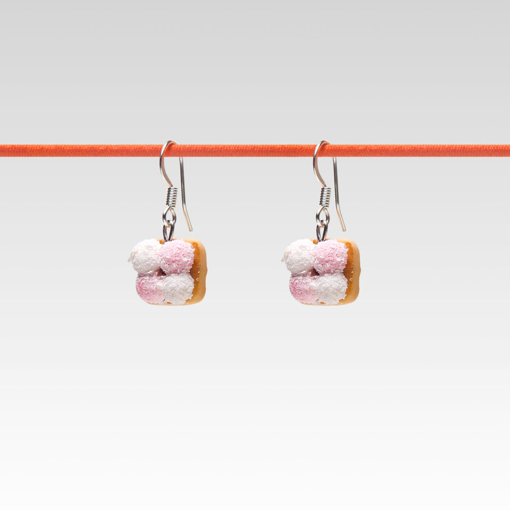 Yomi Yomi Dangle Earrings Marshmallow Cookie Graham