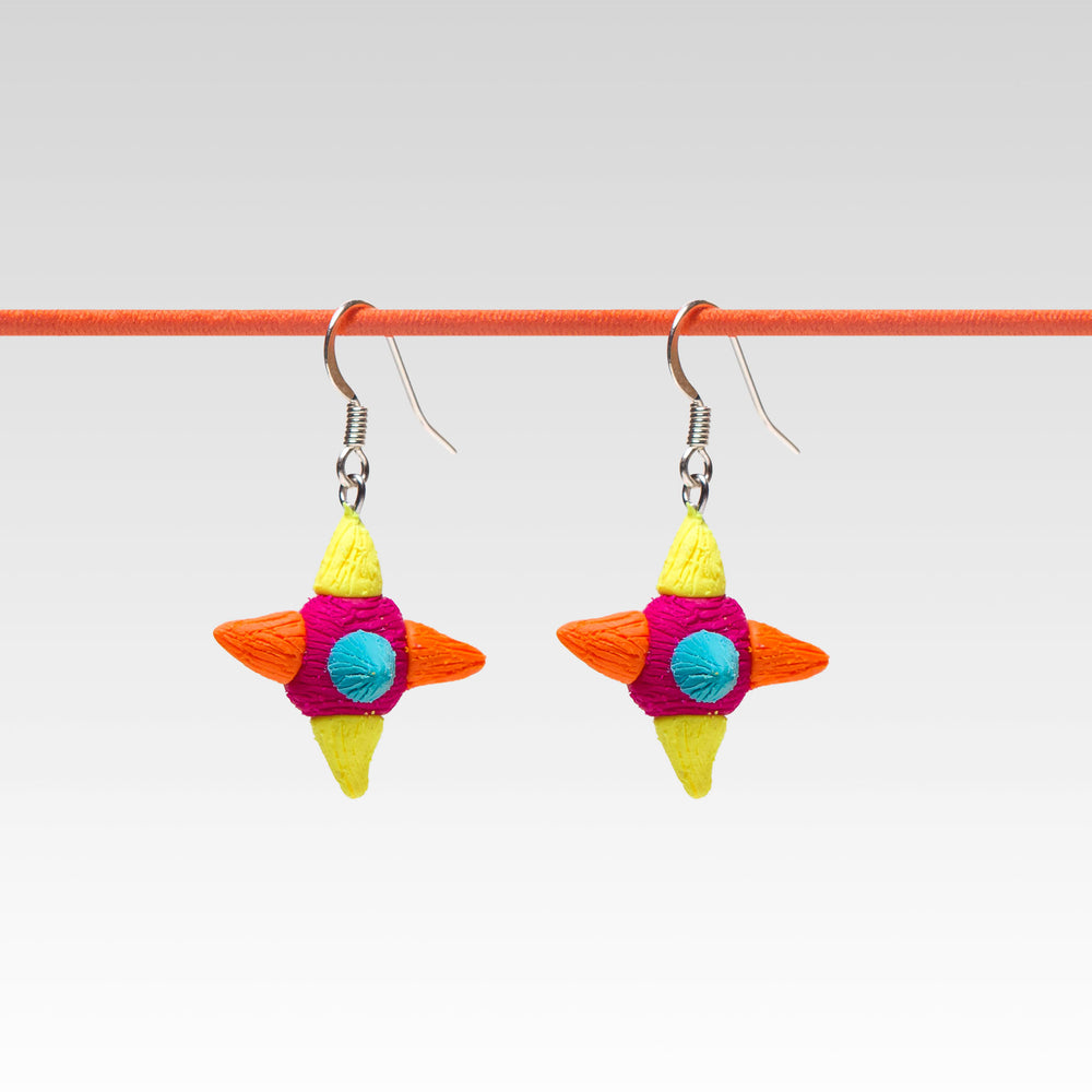 Yomi Yomi Dangle Earrings Piñatas