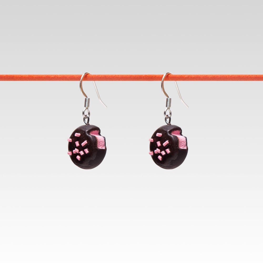 Dangle Earrings Strawberry Truffle