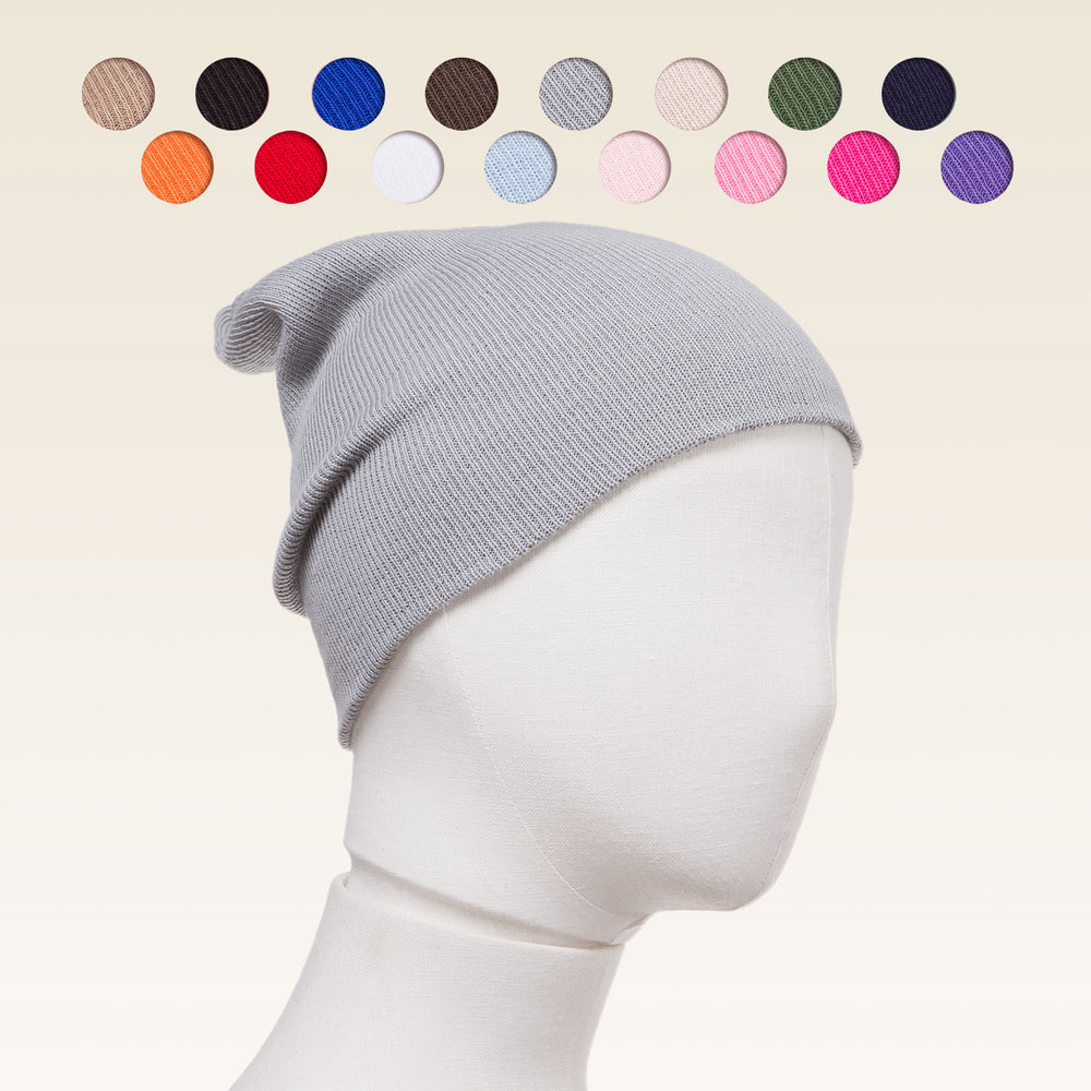 100% combed cotton beanie for toddlers, beanie for boys, beanie for girls, Swatches